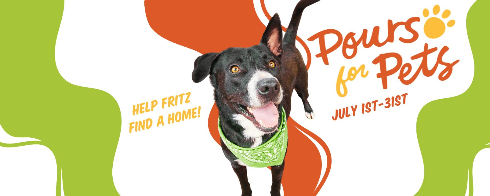 Pours for Pets Website Banner 1