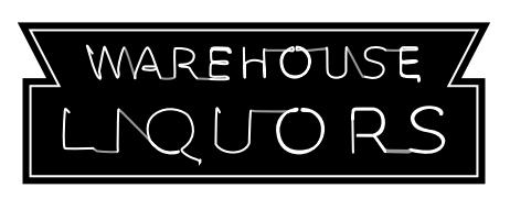Warehouse Liquors Black and White Logo (1)