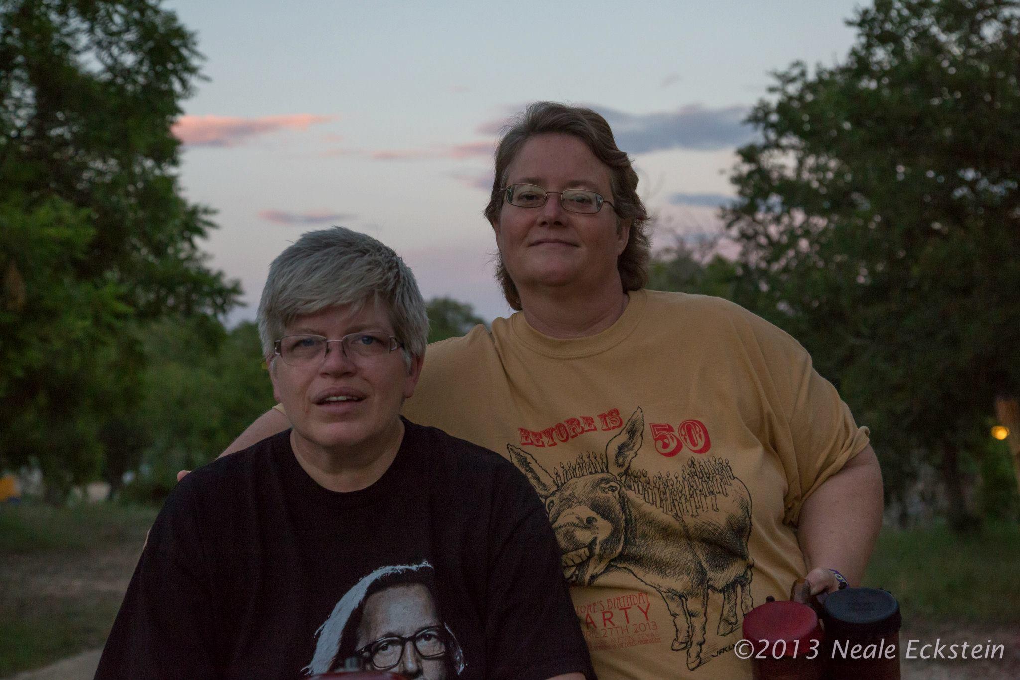 Deanne Croan & Ingrid Ellerbee
